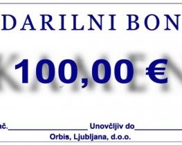 Darilni bon 100 €
