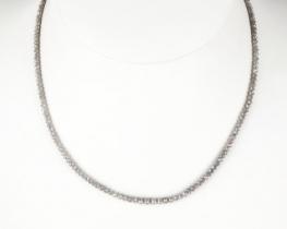 Diamantna ogrlica SNOW WHITE