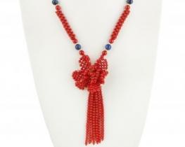 Koralna ogrlica LOTUS