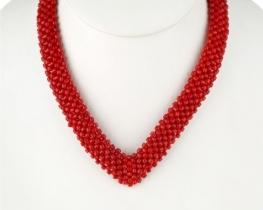 Koralna ogrlica VIKTORIJA