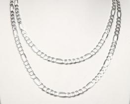 Srebrna verižica FIGARO 1,8 mm 50 - 55 cm