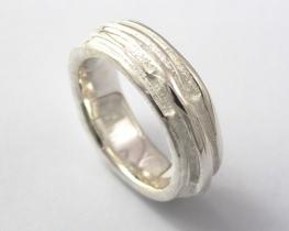 Srebrn prstan Abrianna