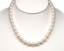 Ogrlica iz biserov MIRAMAR - 12 mm