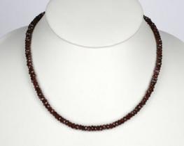 Ogrlica iz granata 5 mm