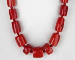 Ogrlica iz koral 12-30 mm