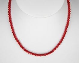 Ogrlica iz koral  5 mm