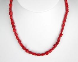 Ogrlica iz koral 5x8 mm