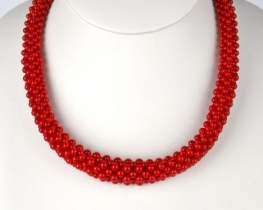 Ogrlica iz koral ADELINA