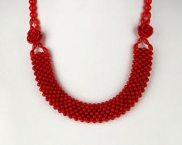 Ogrlica iz koral  DVE VRTNICI