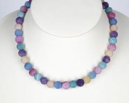 Ogrlica iz mavričnega ahata 10 - 42 in 50 cm