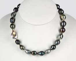 Ogrlica iz morskih baročnih TAHITI biserov