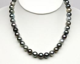 Ogrlica iz TAHITI biserov 9-12 mm