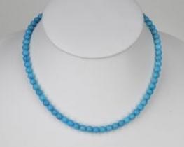 Ogrlica iz turkiza A 6 mm