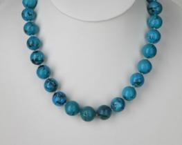 Ogrlica iz turkiza  - 13 mm