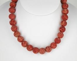 Ogrlica NATURA  - korale 14 mm