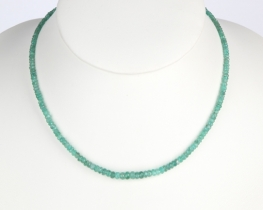 Ogrlica Smaragd 3 - 5 mm