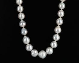 Ogrlica SNEGULJČICA iz Tihomorskih biserov