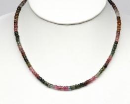 Ogrlica TURMALIN - večbarvna