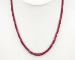 Ogrlica rubin RED VELVET