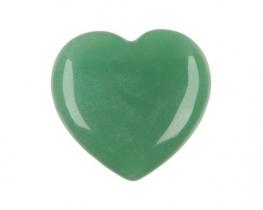 Srce iz aventurina 30 x 30 x 12 mm