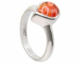 Srebrn prstan 1001 roža