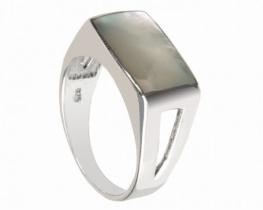 Srebrn prstan - biserovina
