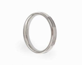 Srebrn prstan DIAMOND SHINE - moški