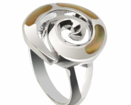 Srebrn prstan POLŽEK