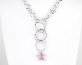 Srebrna ogrlica OLIMPIA