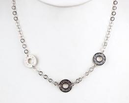 Srebrna ogrlica RIMLJANKA