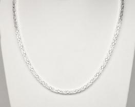 Srebrna verižica Kraljevi vez 65 cm