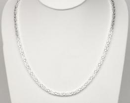 Srebrna verižica Kraljevi vez - BIZANT 60 cm