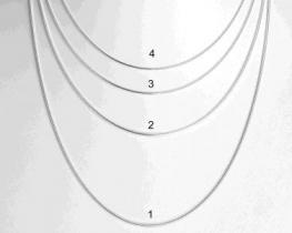 Srebrna verižica KAČICA 04
