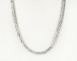 Srebrna verižica KRALJEVI VEZ - 60 cm