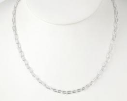 Srebrna verižica ROLO OVAL - 60 cm