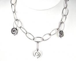 Srebrna ogrlica ATLANTIDA