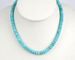 VITA - ogrlica iz amazonita - 8 mm