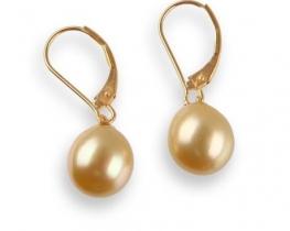 Viseči uhani BALI GOLD 11 mm