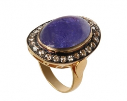 Zlat viktorijanski prstan ZANZIBAR