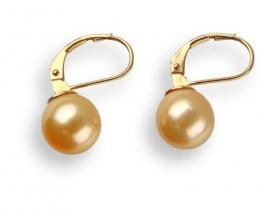 Zlati uhani BALI - GOLD 10,2 mm