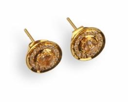 Zlati viktorijanski uhani ORION S